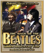 Flyer thumbnail for The No1 Hits Golden Anniversary Tour: Magic Of The Beatles