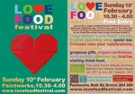 Flyer thumbnail for Love Food Valentines Festival: Love Food Festival
