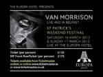 Flyer thumbnail for Van Morrison Supper Club: Van Morrison