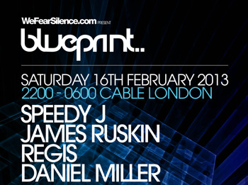 We Fear Silence Present Blueprint: Speedy J + James Ruskin + Regis + Daniel Miller + Lakker + Tengui + MB & CB picture