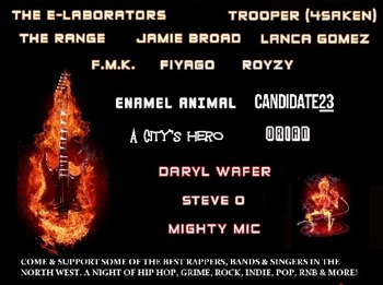 Loyal To The People Presents... Eruption Of Music!: Jamie Broad + The E-Laborators + Lanca Gomez picture