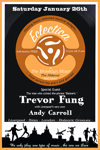Flyer thumbnail for Eclectica: Trevor Fung + Andy Carroll
