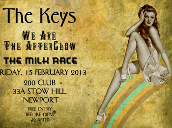 The Keys + We Are The Afterglow + The Milkrace picture