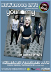 Flyer thumbnail for Newblood Teenage Gig Night: Your Army + The Innocent Wreaks