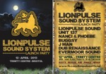 Flyer thumbnail for Launch Party: Buggsy + Lionpulse Sound + Unit 137 + Nanci & Phoebe + Dub Renaissance + Evermoor Sound + J Man