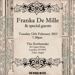 Flyer thumbnail for Franka De Mille