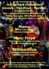 Flyer thumbnail for Prog Rock Celebration: Mama: All Era Genesis + Manc Floyd + StillMarillion