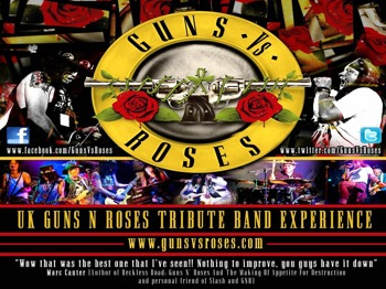 The Tunnels, Bristol: Guns Vs Roses + Blaxar picture
