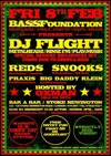 Flyer thumbnail for Bassfoundation: DJ FLight + More