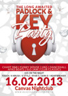 Flyer thumbnail for The Padlock & Key Party - Valentines Special