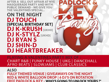 The Padlock & Key Party - Valentines Special picture