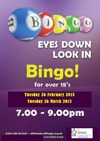 Flyer thumbnail for Bingo (Over 18s Only)