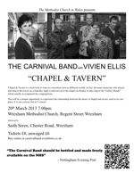 Flyer thumbnail for Chapel & Tavern: The Carnival Band + Vivien Ellis