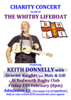 Flyer thumbnail for Charity Concert In Aid Of The Whitby Lifeboat: Keith Donnelly + Malc Gurnham & Gill Gilsenan + Graeme Knights