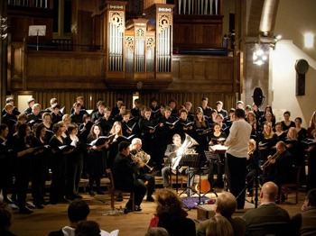 Red Note & Jam: Rejoice: Red Note Ensemble, Edinburgh University Chamber Choir, University of St Andrews Chapel Choir, University of Aberdeen Chamber Choir, Michael Bawtree, conductor, Andrew Dickinson, tenor, Thomas Wilkinson, organ picture