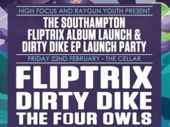 High Focus Records: Fliptrix Album & Dirty Dike Ep Launch: The Four Owls picture