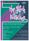 Flyer thumbnail for The Glitch Kitschen: Phractal + eNgo + Gorkem Ozkaynak + Unsafe Girl + Nazzareen + Acre + Isris