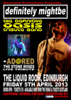 Flyer thumbnail for Oasis & Stone Roses Tribute Night: Definitely Might Be + Adored