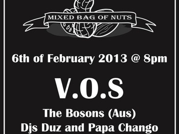 Mixed Bag Of Nuts: V.O.S + The Bosons picture