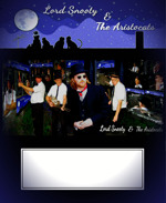 Flyer thumbnail for Lord Snooty And The Aristocats + James Taplin & His Fantastic Smoking Beagles