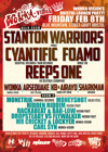 Flyer thumbnail for Wonka-vision Bristol Launch: The Stanton Warriors + Cyantific + Foamo + Reeps One