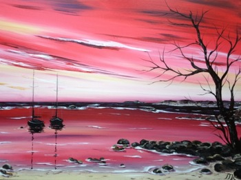 Marja Brown: Acrylic Land & Seascapes picture