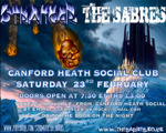 Flyer thumbnail for Fire Up Winter: Stranger + The Sabres