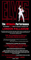 Flyer thumbnail for Elvis: The Ultimate Performance:: Chris Connor