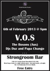 Flyer thumbnail for Mixed Bag Of Nuts: V.O.S + The Bosons