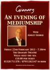 Flyer thumbnail for An Evening Of Mediumship: Ashley George