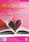 Flyer thumbnail for Love In Your Library