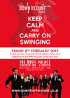 Flyer thumbnail for Keep Calm And Carry On Swinging: Down For The Count