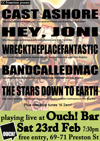 Flyer thumbnail for The Early Weekender Tour: Wrecktheplacefantastic + BandCalledMac + Stars Down To Earth + Cast Ashore + Hey Joni