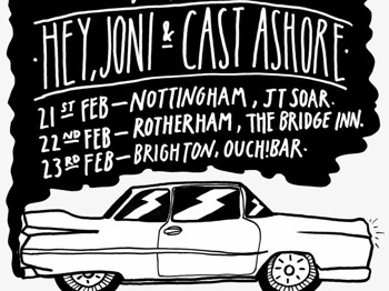 The Early Weekender Tour: Wrecktheplacefantastic + BandCalledMac + Stars Down To Earth + Cast Ashore + Hey Joni picture