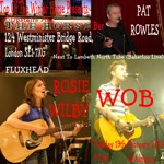 Flyer thumbnail for Wob + Rosie Wilby + Pat Rowles + Moykal O'Bui