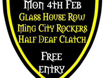 The Hallgate Sessions: Ming City Rockers + Half Deaf Clatch + Glass House Row picture