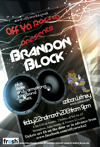 Flyer thumbnail for Off Ya Rocka: Brandon Block