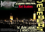 Flyer thumbnail for The Members + Rat Scabies + The Midwich Cuckoo's