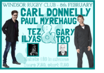 Flyer thumbnail for Laughing Coyote Comedy: Carl Donnelly, Paul Myrehaug, Tez Ilyas, Gary Tro
