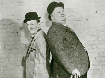 Laurel & Hardy In Grantham: AJ Marriot  picture