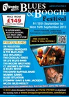 Flyer thumbnail for Boogaloo Promotions' Pakefield Blues & Boogie Festival
