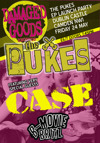 Flyer thumbnail for EP Launch Party: The pUKEs + CASE + B-Movie Britz