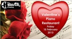 Flyer thumbnail for Valentine's Night Piano Restaurant: Hugh Ockendon