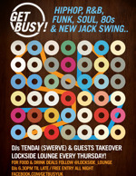 Flyer thumbnail for Get Busy!: Fabio + DJ Tendai