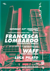 Flyer thumbnail for Junk Love...: Waff + Luka Pilato + Francesca Lombardo