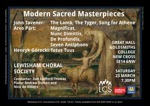 Flyer thumbnail for Modern Sacred Masterpieces: Lewisham Choral Society