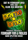 Flyer thumbnail for Prime Time: February Fun & Frolics: Hemlock + Matt Rush + Andriko + Matt Ashton + Hornsby