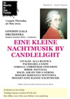 Flyer thumbnail for Eine Kleine Nachtmusik By Candlelight: Stephen Ellery, London Gala Orchestra