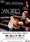 Flyer thumbnail for EFC Festival 2013: Dan Reed Band + Bad Name + Straight Shooter