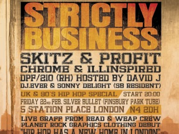 [Strictly Business]: DJ Chrome + DJ Skitz + 210 + Ilinspired + Sonny Delight + DPF picture